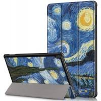 Чехол для Lenovo Tab M10 TB-X605L / TB-X605F с рисунком Starry Night