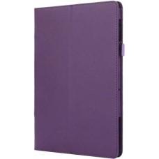 Чехол для Lenovo Tab P10 TB-X705F / TB-X705L фиолетовый кожаный