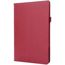 Чехол для Lenovo Tab P10 TB-X705F / TB-X705L красный кожаный
