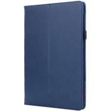 Чехол для Lenovo Tab P10 TB-X705F / TB-X705L синий кожаный