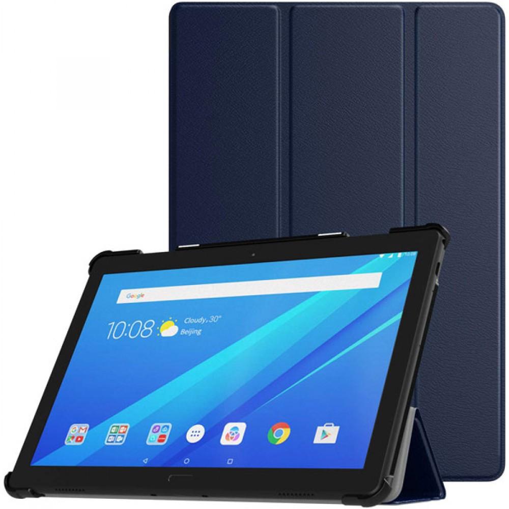 Чехол для Lenovo Tab P10 TB-X705F / TB-X705L темно-синий