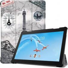 Чехол для Lenovo Tab P10 TB-X705F / TB-X705L с рисунком Eiffel Tower