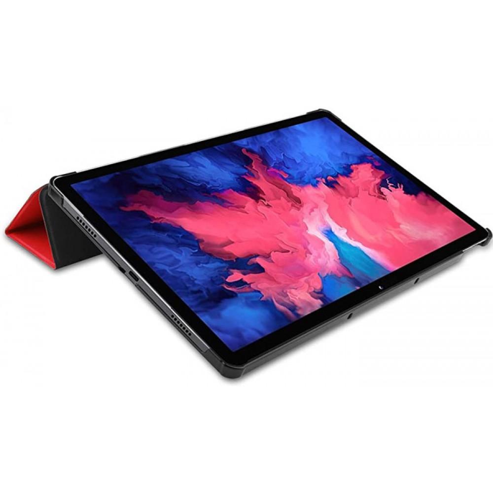 Чехол для Lenovo Tab P11 полиуретановый красный