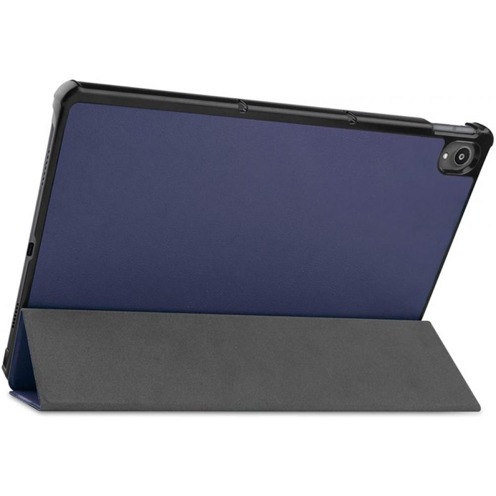 Чехол для Lenovo Tab P11 полиуретановый темно-синий