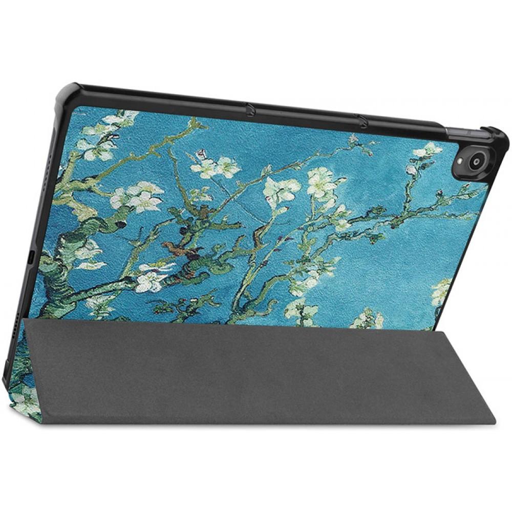 Чехол для Lenovo Tab P11 с рисунком Apricot Flower