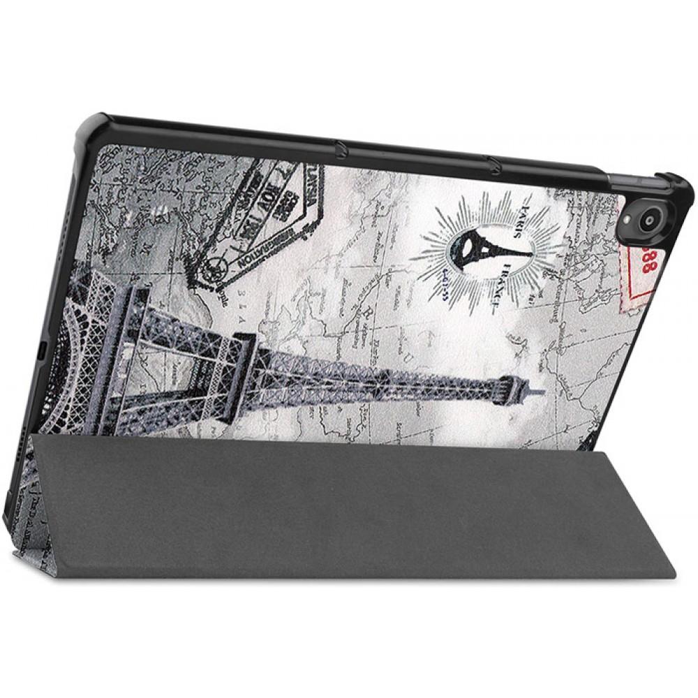 Чехол для Lenovo Tab P11 с рисунком Eiffel Tower