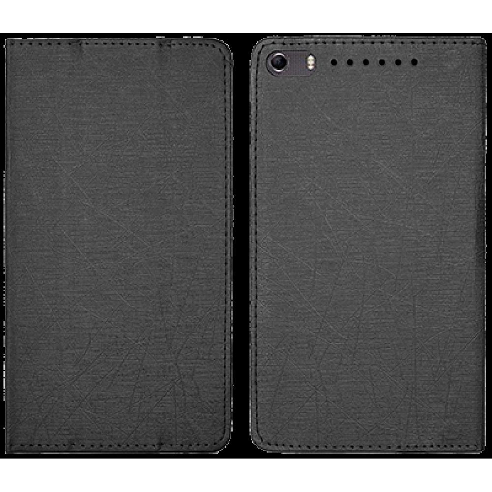Чехол для Lenovo Phab Plus черный кожаный DOORMOON