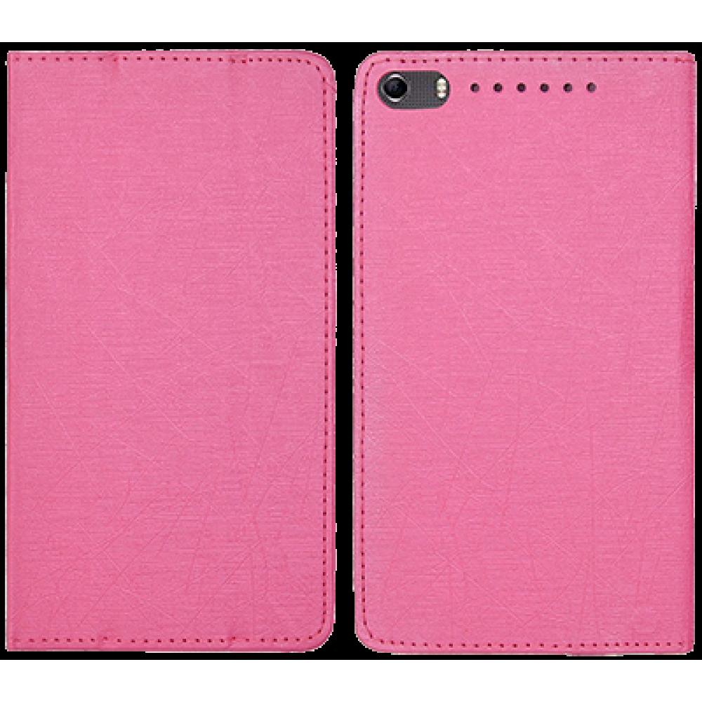 Чехол для Lenovo Phab Plus розовый кожаный DOORMOON