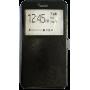 Чехол для Lenovo Phab Plus черный кожаный