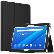 Чехол для Lenovo Tab 4 10 TB-X304L черный кожаный
