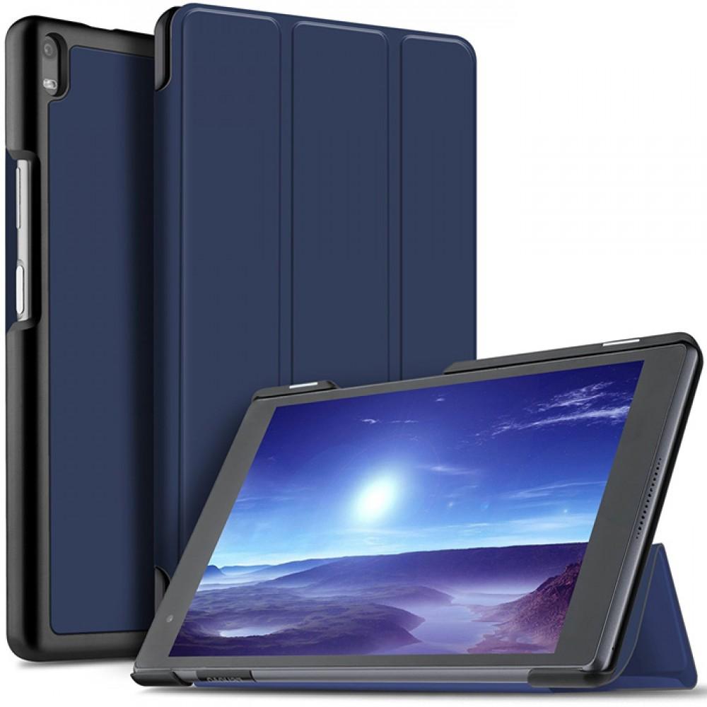 Чехол для Lenovo Tab 4 8 Plus темно-синий