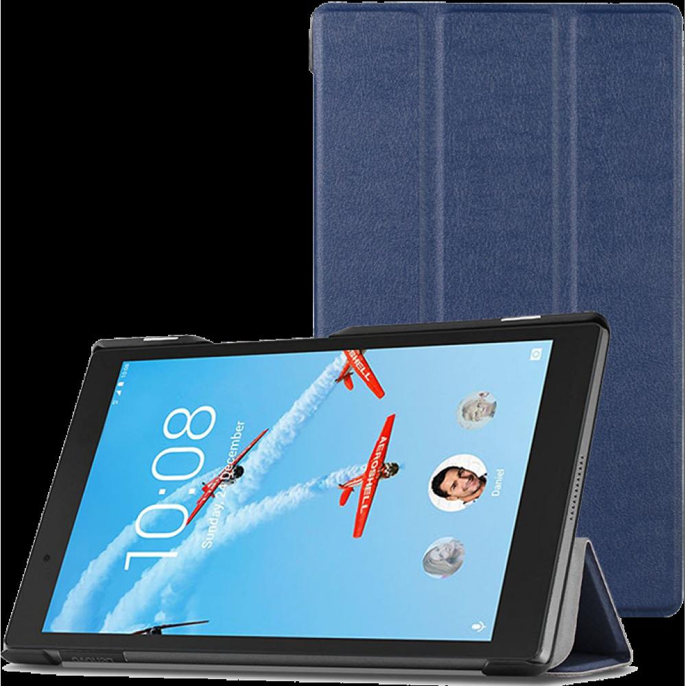 Чехол для Lenovo Tab 4 8 TB-8504 темно-синий