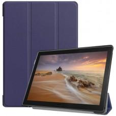 Чехол для Lenovo Tab E10 TB-X104 темно-синий