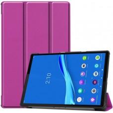 Чехол для Lenovo Tab M10 Plus TB-X606 фиолетовый полиуретановый