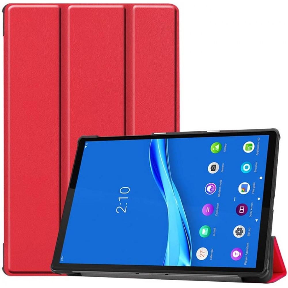 Чехол для Lenovo Tab M10 Plus TB-X606 красный полиуретановый