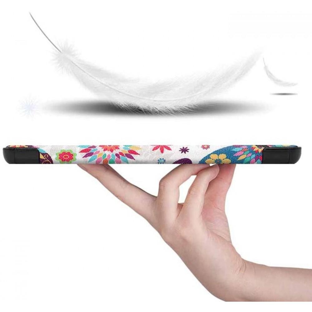 Чехол для Lenovo Tab M10 Plus TB-X606 с рисунком Butterfly