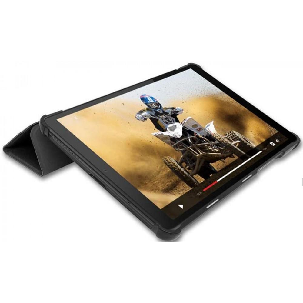 Чехол для Lenovo Tab M8 черный полиуретановый