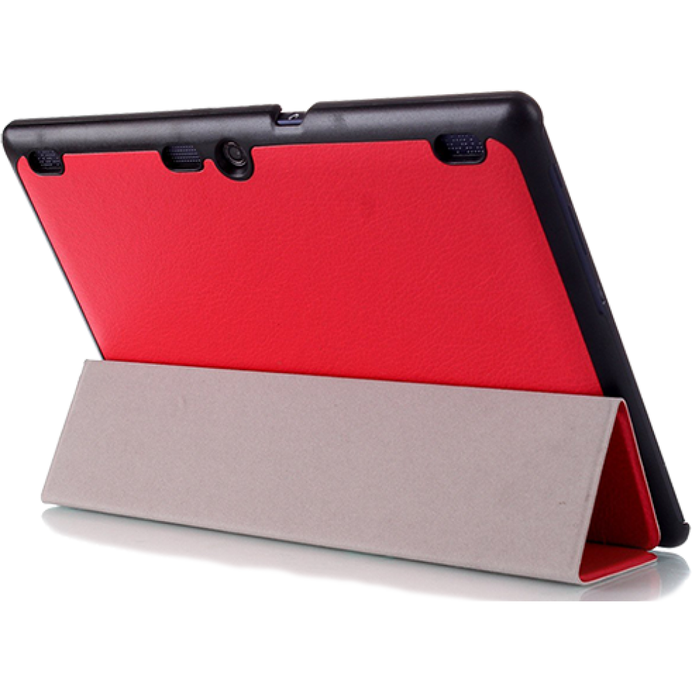 Чехол для Lenovo TAB 3 10 Plus красный