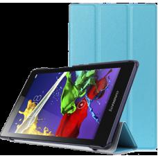 Чехол для Lenovo Tab 3 A8-50 голубой