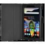 Чехол для Lenovo TAB 3 Essential 710 черный кожаный