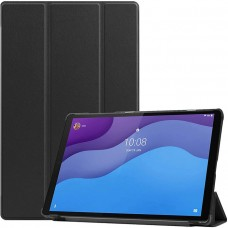 Чехол для Lenovo Tab M10 HD TB-X306 черный полиуретановый
