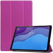Чехол для Lenovo Tab M10 HD TB-X306 фиолетовый полиуретановый