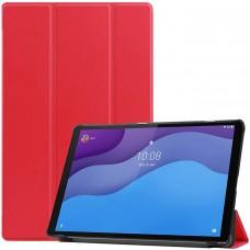 Чехол для Lenovo Tab M10 HD TB-X306 красный полиуретановый