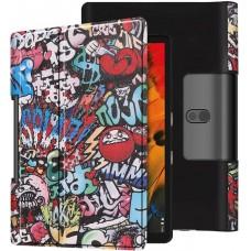 Чехол для Lenovo Yoga Smart Tab YT-X705 10.1 с рисунком Graffiti