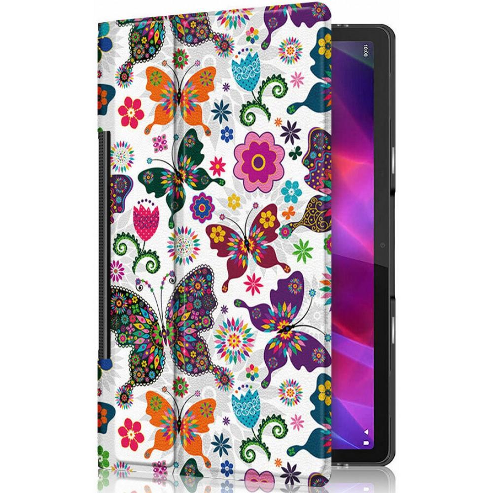 Чехол для Lenovo Yoga Tab 11 с рисунком Бабочки