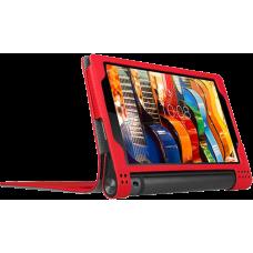 Чехол для Lenovo Yoga Tab 3 10 X50 красный кожаный DOORMOON