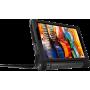 Чехол для Lenovo Yoga Tab 3 10 X50 черный кожаный DOORMOON