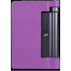 Чехол для Lenovo Yoga Tablet 3 8.0 фиолетовый кожаный