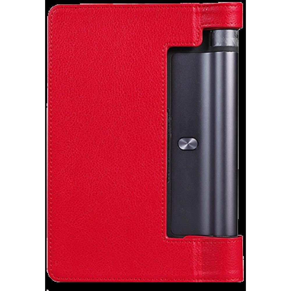 Чехол для Lenovo Yoga Tablet 3 8.0 красный кожаный