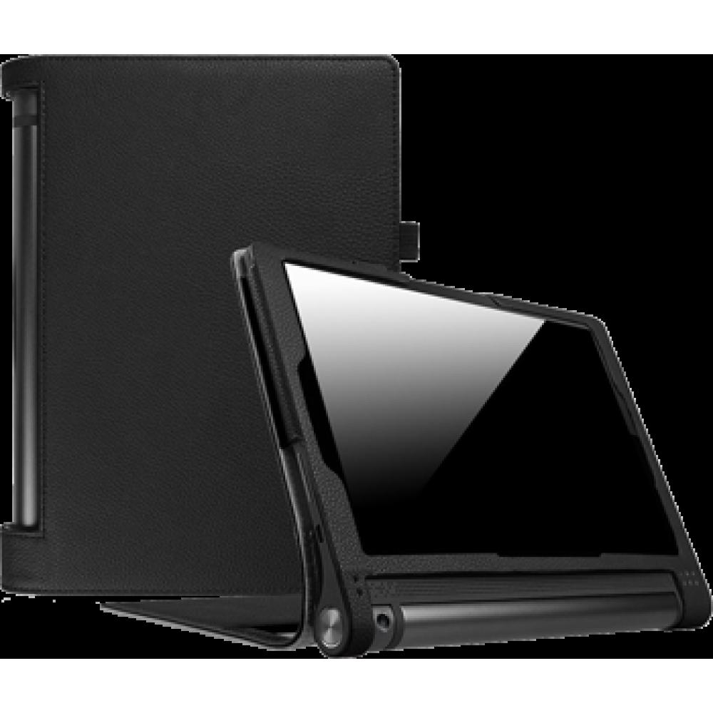 Чехол для Lenovo YOGA Tab 3 Plus черный кожаный