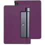 Чехол для Lenovo YOGA Tab 3 Plus фиолетовый кожаный