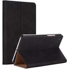 Чехол для Xiaomi Mi Pad 4 черный кожаный