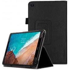 Чехол для Xiaomi Mi Pad 4 Plus кожаный черный