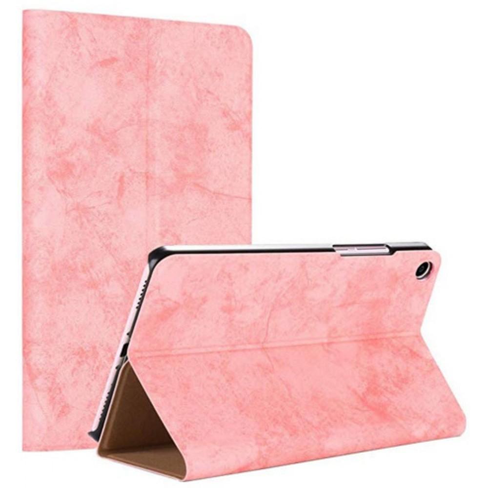Чехол для Xiaomi Mi Pad 4 розовый кожаный