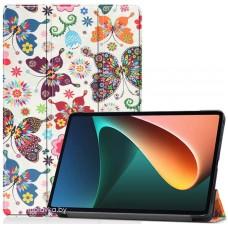 Чехол для Xiaomi Mi Pad 5 / Mi Pad 5 Pro с рисунком Бабочки