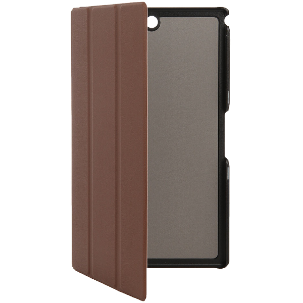 Чехол Smart Cover Case Brown (Коричневый цвет) для Sony Xperia Z3 Tablet Compact