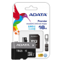 ADATA Premier microSDHC Class 10 UHS-I U1 16GB + SD adapter