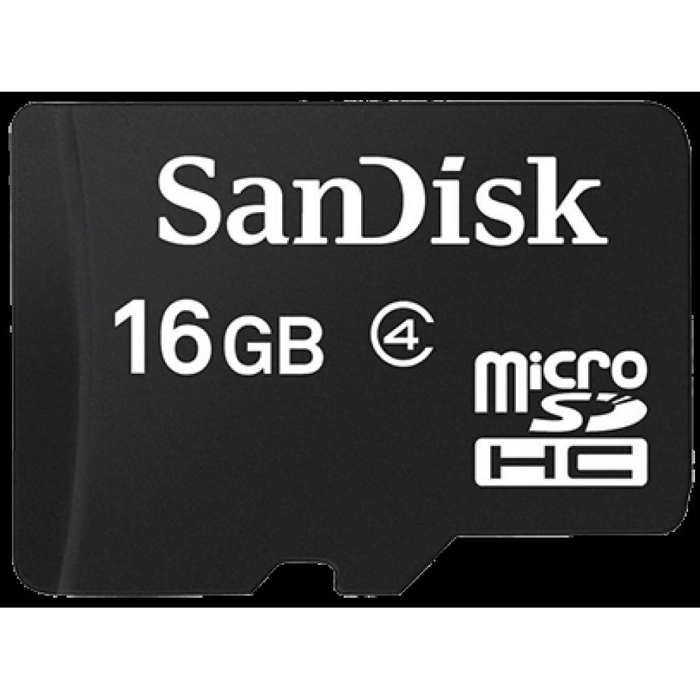 SanDisk MicroSDHC 16 GB Class 4