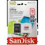 SanDisk Ultra MicroSDHC 16 GB UHS-I Class 10