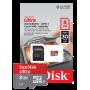 SanDisk Ultra MicroSDHC 8 GB UHS-I Class 10