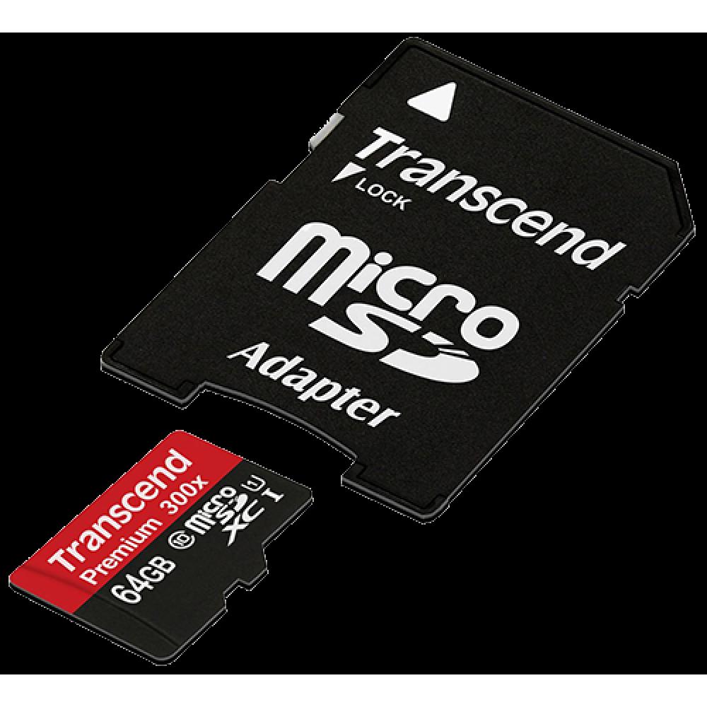 Transcend Premium microSDXC Class 10 64 GB