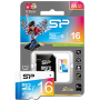 Silicon Power Elite microSDHC UHS-I 16GB + адаптер