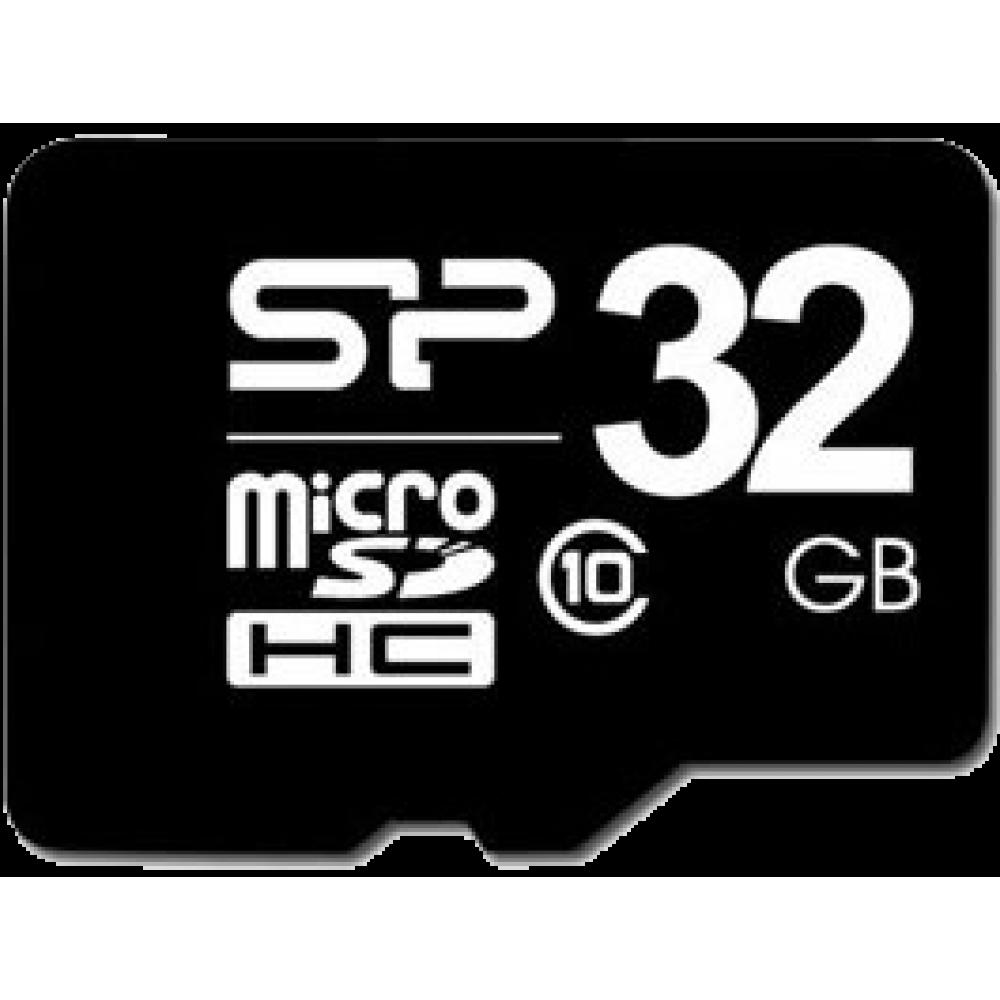 Silicon Power microSDHC (Class 10) 32 Гб