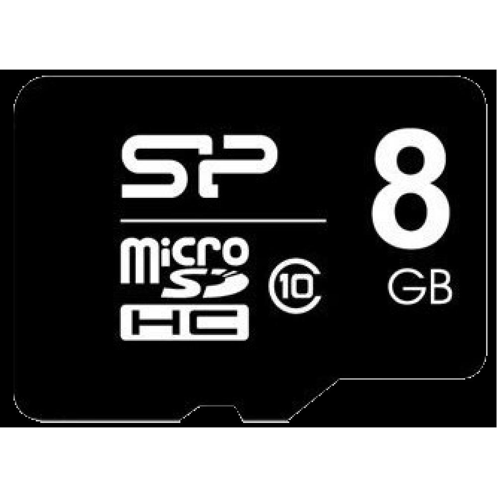 Silicon Power microSDHC (Class 10) 8 Гб