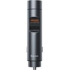 FM модулятор Baseus CCNLZ-C0G Dark Grey