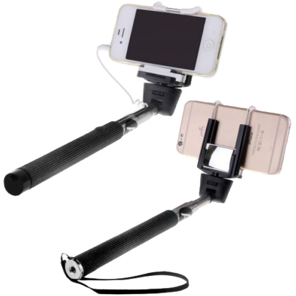 Монопод Activ Cable 201 с зеркалом черный